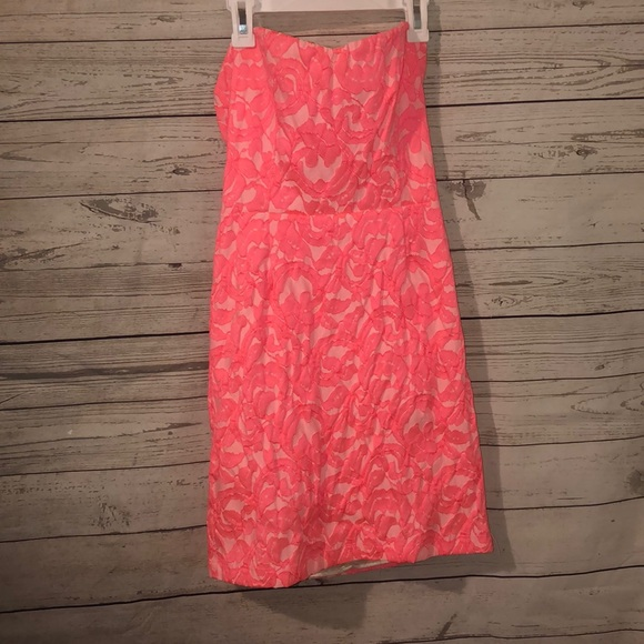 Eight Sixty Dresses & Skirts - Eighty Six Neon Pink Dress Cocktail Sorority Small